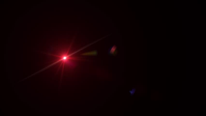 Bright Red Lens Flare | Shutterstock HD Video #1021233721