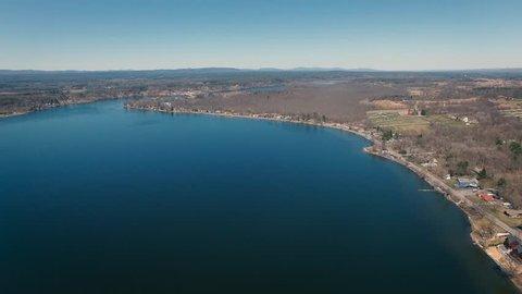 blue saratoga lake