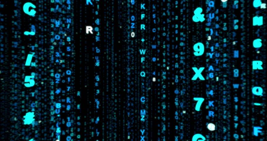 Matrix Code Rain Stock Footage Video (100% Royalty-free) 1021341571 |  Shutterstock