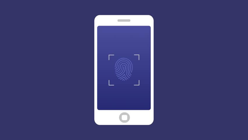 Fingerprint Scan, Animation of Scanning Stock Footage Video (100%  Royalty-free) 1021426801   Shutterstock