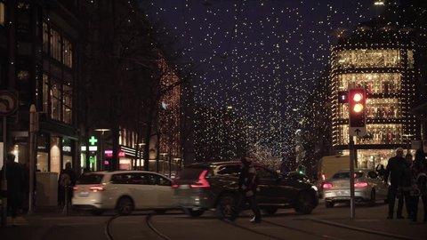 Zürich Weihnachtsbeleuchtung.1000 Weihnachtsbeleuchtung Zurich Stock Video Clips And Footage