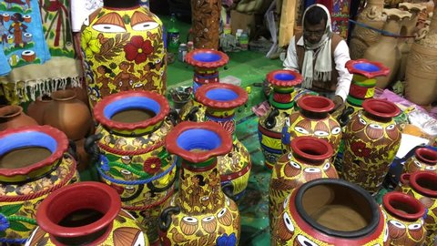 West Bengal Handicrafts Stock Video Footage 4k And Hd Video Clips