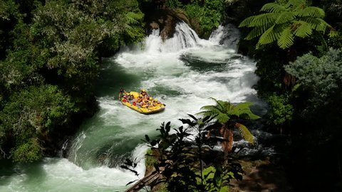 Wildwater rafting in Rotorua New Zealand