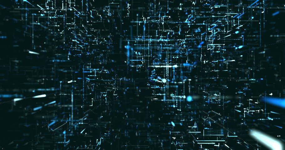Abstract digital data background   Shutterstock HD Video #1021992301