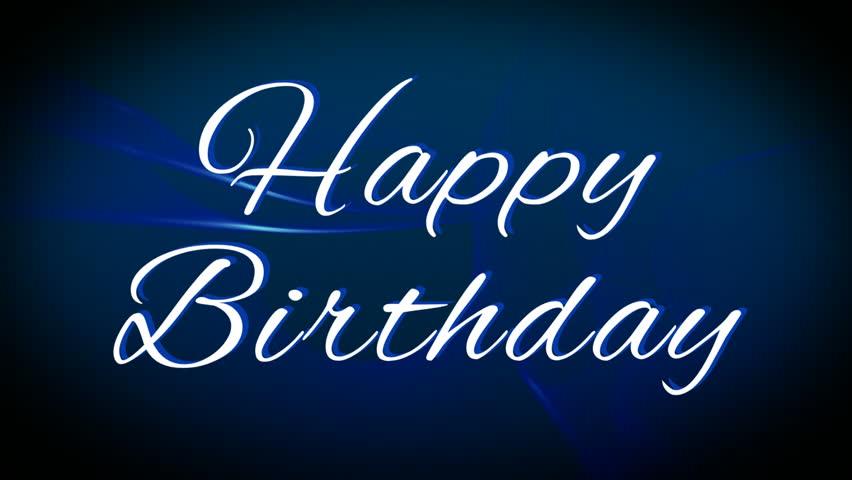 Happy Birthday Congratulation Greeting