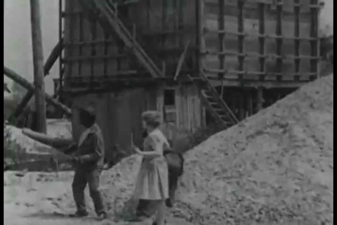 CIRCA 1927 - A miner sends an employee to go file a claim when he strikes gold. The miner and his daughter are then captured.