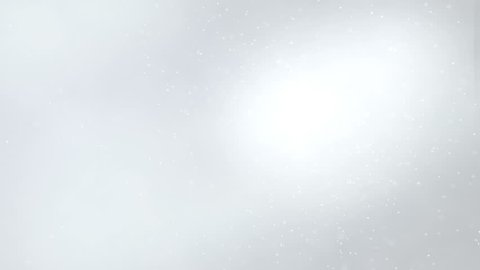 Holiday light gray shining elegant background. Looped 4K motion graphic.