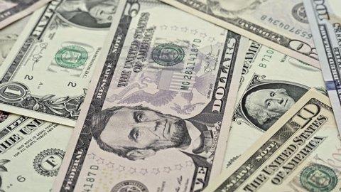 Printing of 100 Dollar Bills Stock Footage Video (100