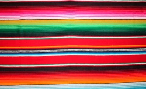poncho Mexican mexico background serape traditional culture textile copy space blanket rug poncho cinco de mayo rug serape fiesta traditional Mexico background with stripes stock, footage, video, clip