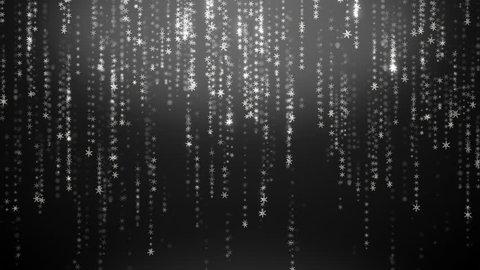 Binary Rain  Abstract Backdrop Background  Stock Footage
