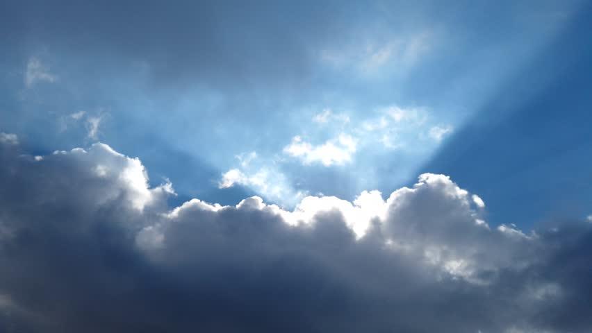 sky clouds time lapse #1023057271