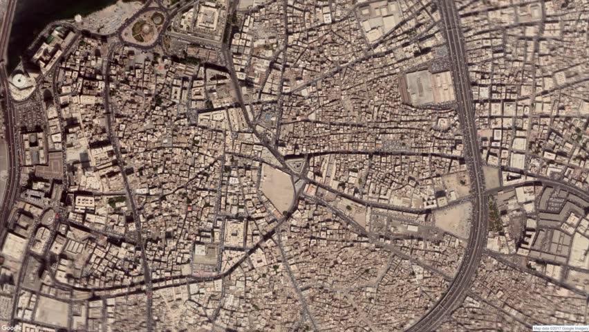 Google Map Zoom To Jeddah, Saudi Arabia 4k Stock Video Footage | Shutterstock HD Video #1023219511
