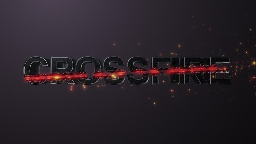 Animated Action Logo, Crossfire Stock Footage Video (100% Royalty-free)  1023486301   Shutterstock