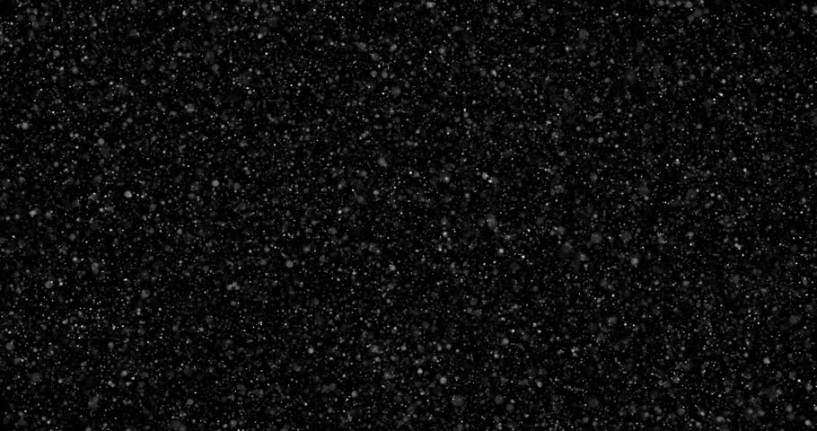 Flying dust particles on a black background | Shutterstock HD Video #1023655291