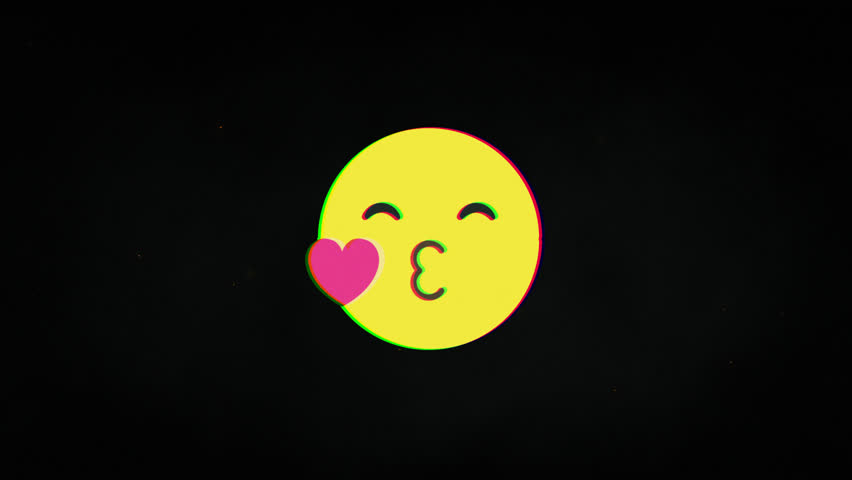 Love face hud holographic symbol on digital old tv screen seamless loop glitch animation. Hearts. Dynamic retro and joyful. Colorful and vintage video footage. | Shutterstock HD Video #1023885601