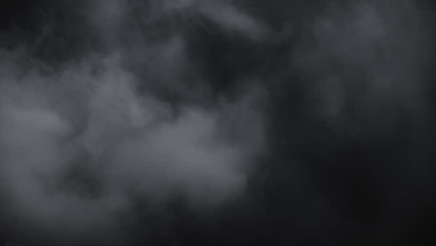 Spooky magic halloween  Atmospheric smoke VFX… - Royalty Free Video