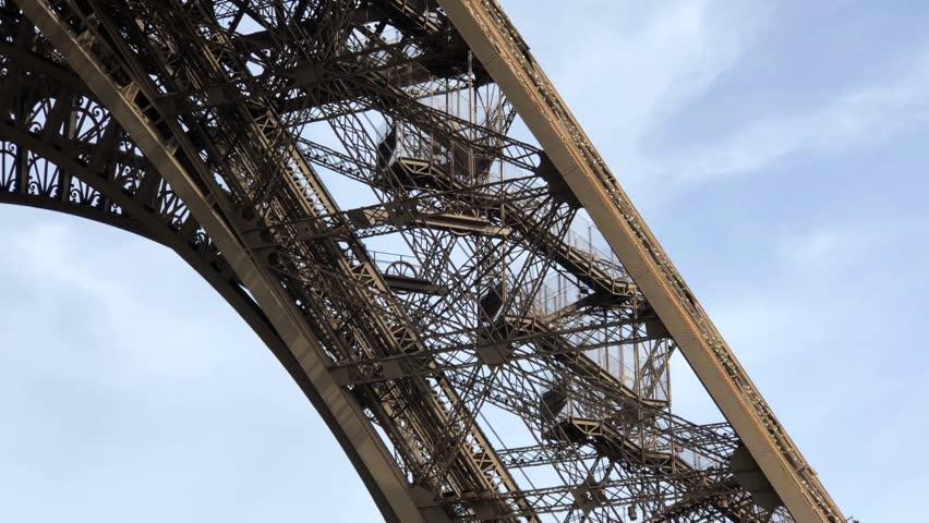 Eiffel Tower Paris France    Shutterstock HD Video #1025723351