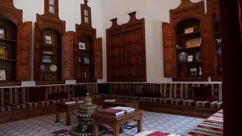 Interior view/Antioch catholic church/Hatay,TURKEY 10.08.2015