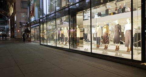 3c9838c3d9593 New York City United States of America January 26th of 2019: H&M fashion  store at
