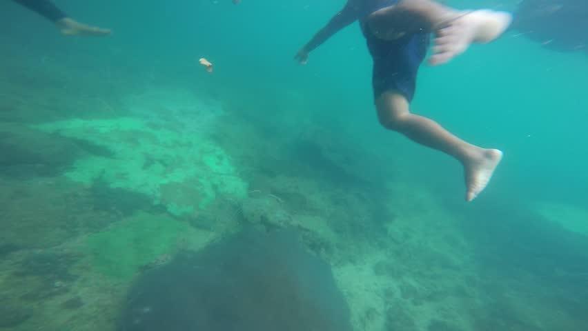 MYANMAR....-JANUARY 6 : Tour CocksComb Island, Popular Nature & under water world of Myanmar, January 6, 2015, Myanmar  #1026375581