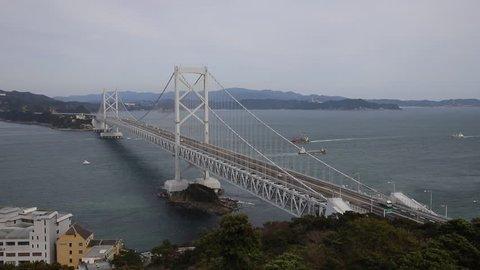 The Great Naruto Bridge in Japan
