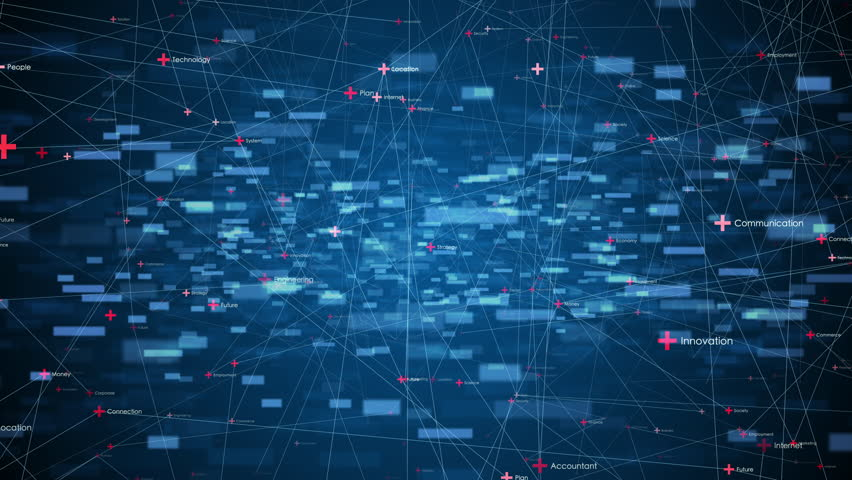 Communication network concept. | Shutterstock HD Video #1026483221