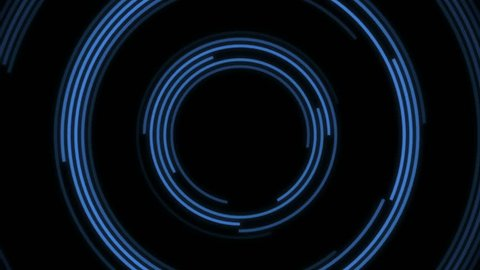 4k Futuristic Hud Target with Computer Data Screen.circle tech interfaces background,news headline business intro screensaver.Target Scanner with Radar Rotation.Head-up Display tunnel. cg_06467_4k