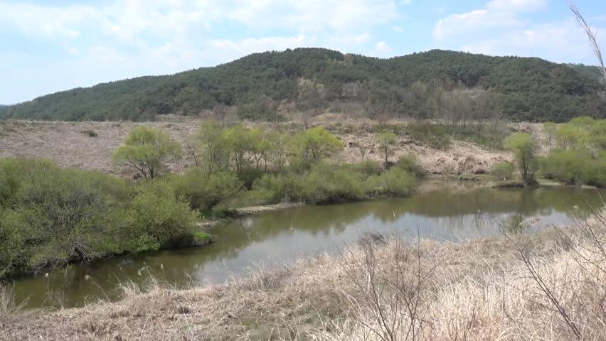 Landscape of Upo wetland, Ramsar site, Korea | Shutterstock HD Video #1027477271