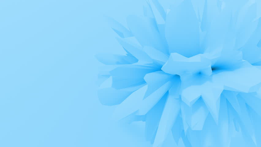 Abstract fractal 3d shape texture liquid object. 4K seamless loop animation. | Shutterstock HD Video #1027965701