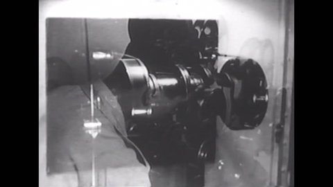 CIRCA 1950s - Film production in Japan after World War Two, includes good scenes of film production in general.