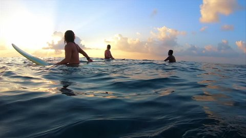 Surfing Session Stock Video Footage - 4K and HD Video Clips