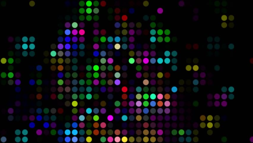 4K Disco Coloful Circles Motion Background | Shutterstock HD Video #1028910221