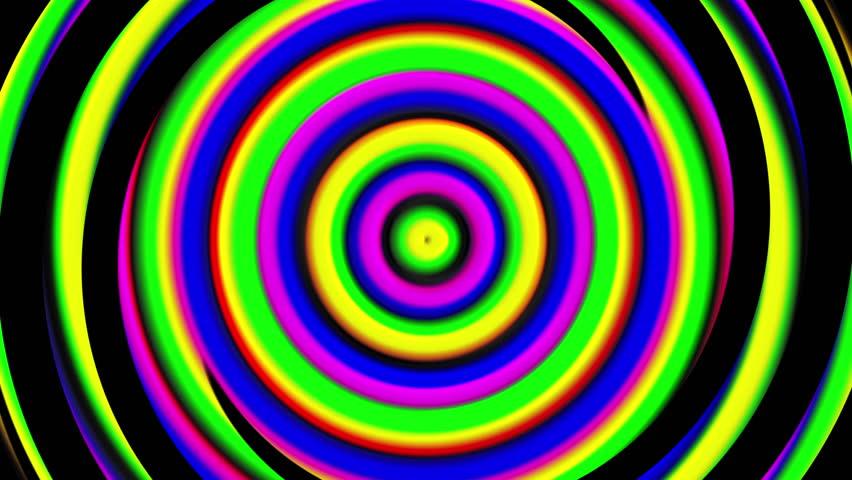 3d bright hypnotic spirals, swirling radial vortex background, computer generated art creative   Shutterstock HD Video #1029069221