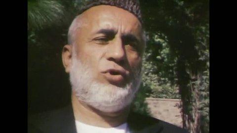 CIRCA 1983 - Mujahideen jihad against Russia in the 1980s.