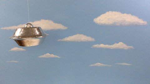 B-Movies: Silly Funny UFO Flyby