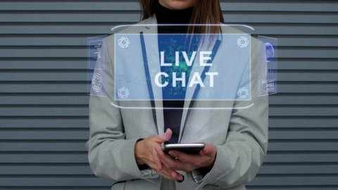 Live Chat Forum Stock Video Footage - 4K and HD Video Clips