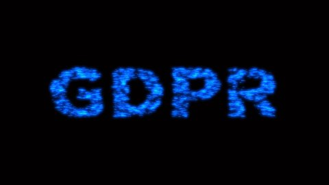 4k GDPR word tag cloud,text design animation,GDPR Related Terms. cg_05751_4k