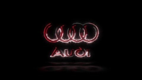 Editorial Animation Audi Car Company