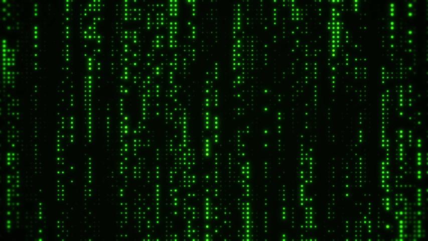 Green Falling Matrix Digital Dots Loop Motion Background   Shutterstock HD Video #1031385131