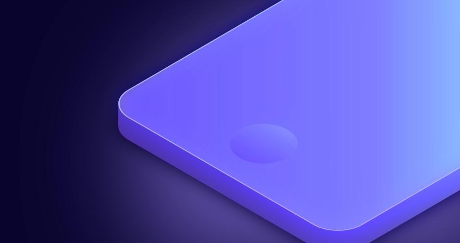 Face id technology, smartphone identifies | Shutterstock HD Video #1031826461