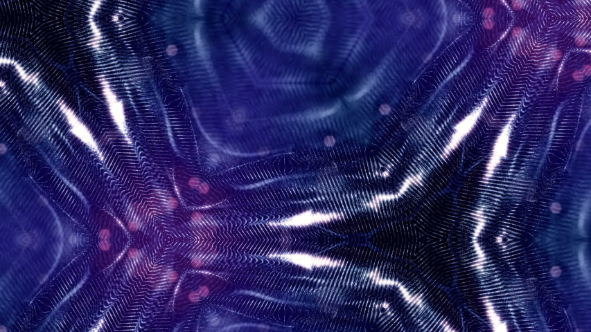 Microworld or nano technology blue background. Seamless looped animation with glow particles. Abstract sci-fi virtual space of luminous particles oscillate and form wavy dot structures in 3d. 17   Shutterstock HD Video #1031882531