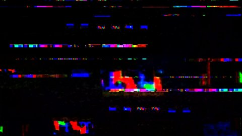 Glitch noise static television vfx  visual video effects stripes  background, tv screen noise glitch effect  video background, transition  effect for video editing, intro and logo reveals with sound