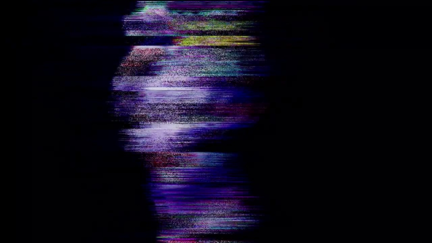 Digital pixel noise glitch art effect. Retro futurism 80s 90s dynamic wave style. Video signal damage with tv noise and old screen interference | Shutterstock HD Video #1032415331
