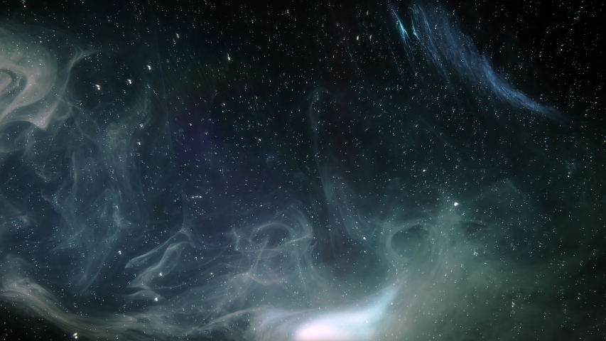 Universe Background - Travel in Stars and Nebulae /Seamless  | Shutterstock HD Video #1032882401