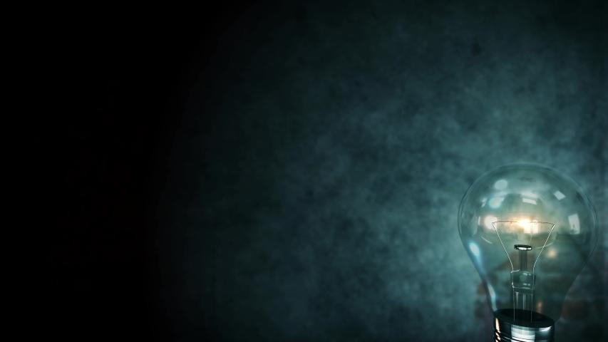Exploding light bulb 4K Creative background concept innovation idea    Shutterstock HD Video #1033401191