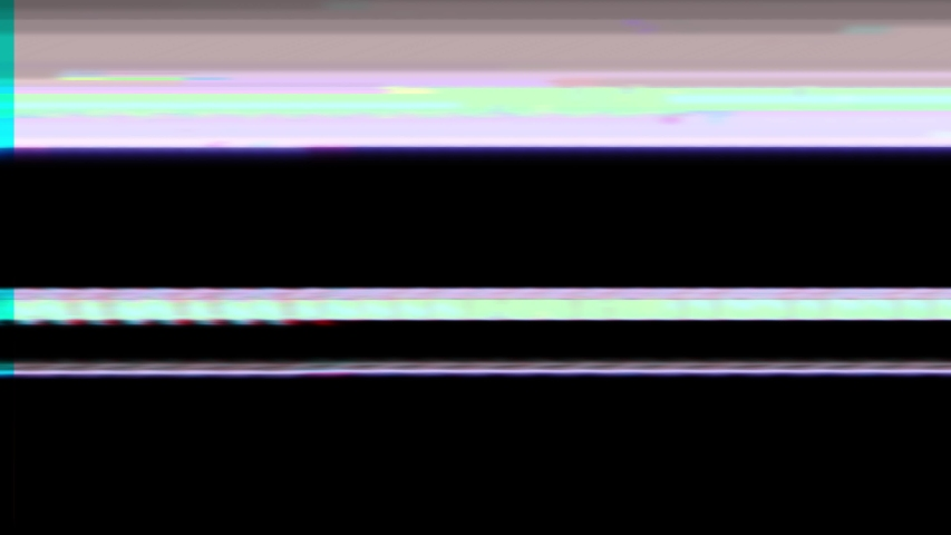 Abstract digital glitch art animation effect. Retro futurism wave style. Video signal damage with pixel noise and error interference | Shutterstock HD Video #1033490381