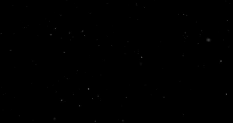 Flying dust particles on a black background | Shutterstock HD Video #1034450201