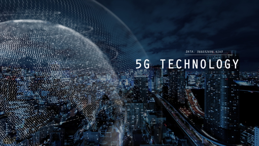 5G and AI technology, Global communication network concept. 3D Illustration. | Shutterstock HD Video #1034686901