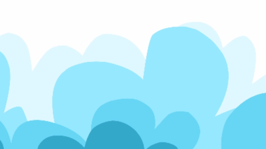 Cloud and rainbow backgrounds result from rendering | Shutterstock HD Video #1034781671