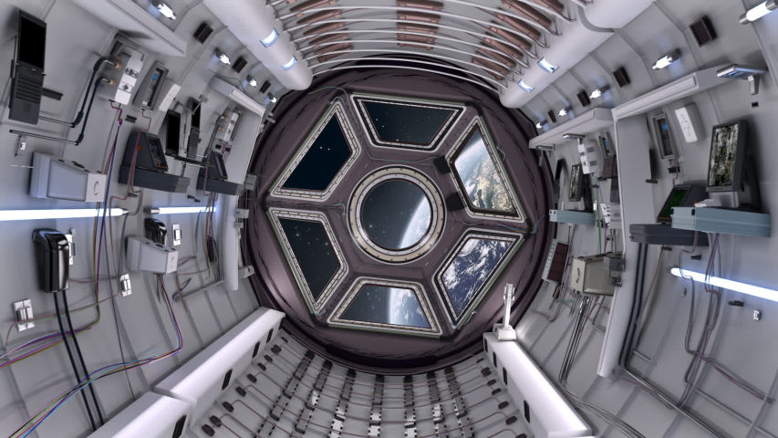 Spaceship Corridor is a stock motion graphics video that shows the interior of a moving spaceship. The POV moves along the corridor. This 1920x1080 (HD) video clip is excellent to use in any project   Shutterstock HD Video #1034837411